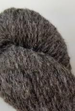 Mule Spinner 2ply  dark grey natural