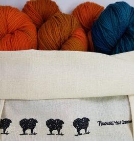 Palouse Yarn Co Soundtrack Sweater Kit in Penna SZ 40-44-48