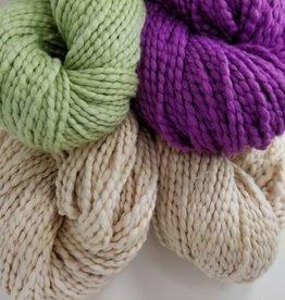 Plymouth Yarns KIT Baby Blanket nat/plum/green 400g