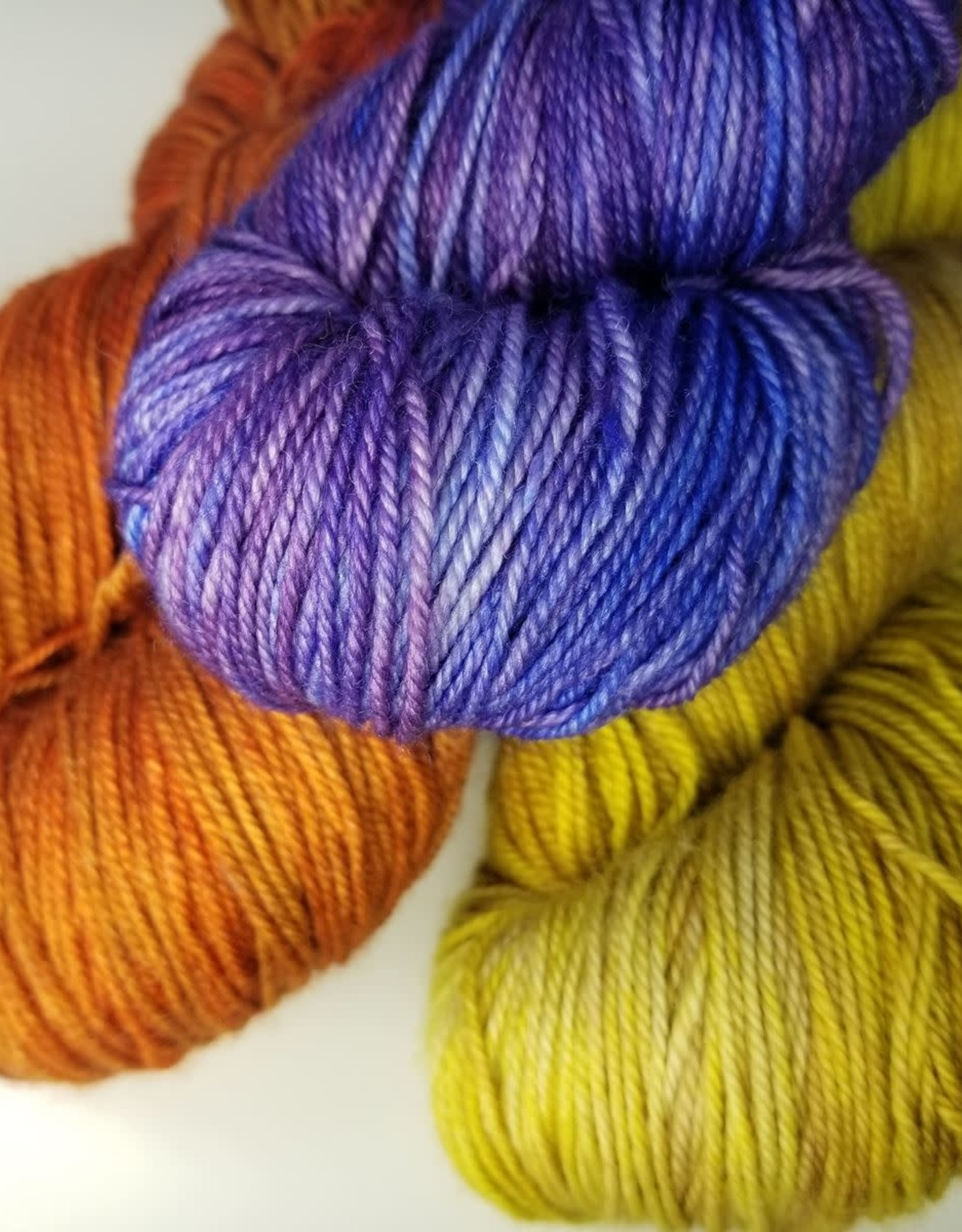 Palouse Yarn Co Seawall Storm Shawl Kit in Cashmere Squeeze