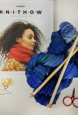 KIT Deluxe Learn To Knit,  Hand Dyed Edition