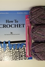 KIT Learn To Crochet:  The FAST Kit