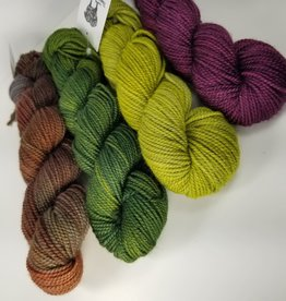 Palouse Yarn Co Handdyed Colorwork Kit Merino DK 200g