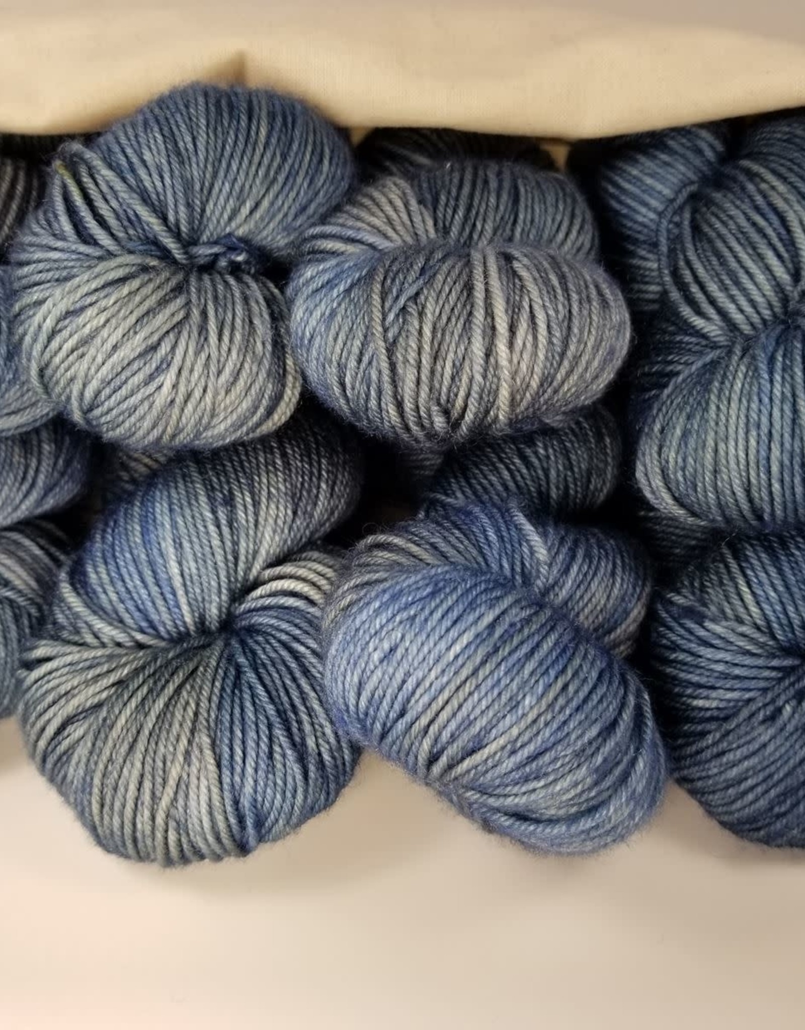 Palouse Yarn Co BAG/8 Sweater Squeeze tuesday blue