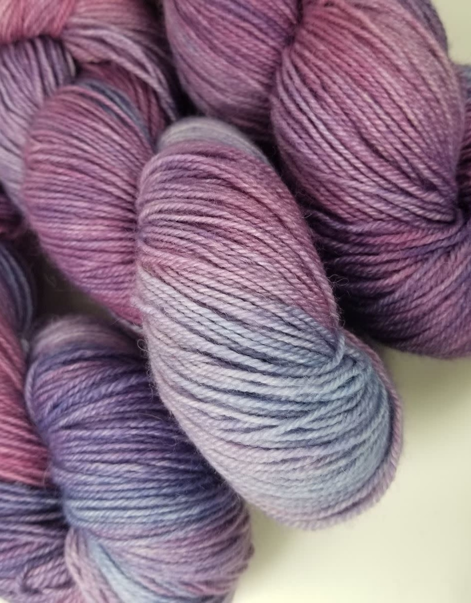 Palouse Yarn Co I Heart BFL Sock Sweet Pea