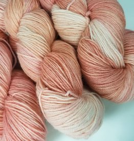 Palouse Yarn Co I Heart BFL Sock Elberta Peach