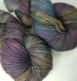 Palouse Yarn Co I Heart BFL Sock Patina