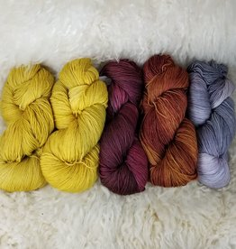 Palouse Yarn Co KIT Slipstravaganza MKAL Yellow Pop Combo