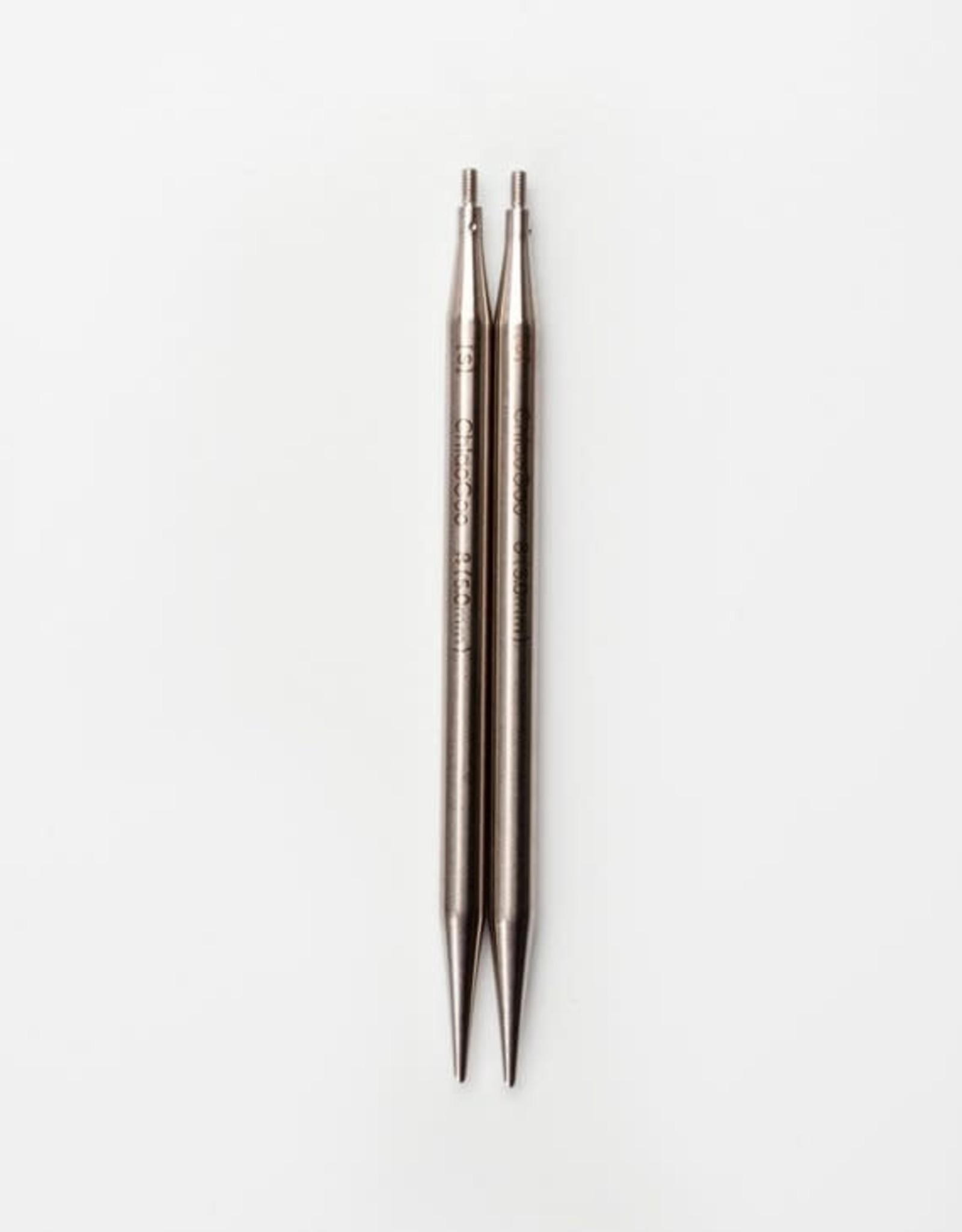 "Chiao Goo TWIST Steel 4"" and 5"" Interchangeable Tips"