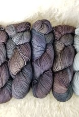 """Palouse Yarn Co KIT Darkwater Pullover Patina 4+1skein, fit to sz 53.75"""" bust"""