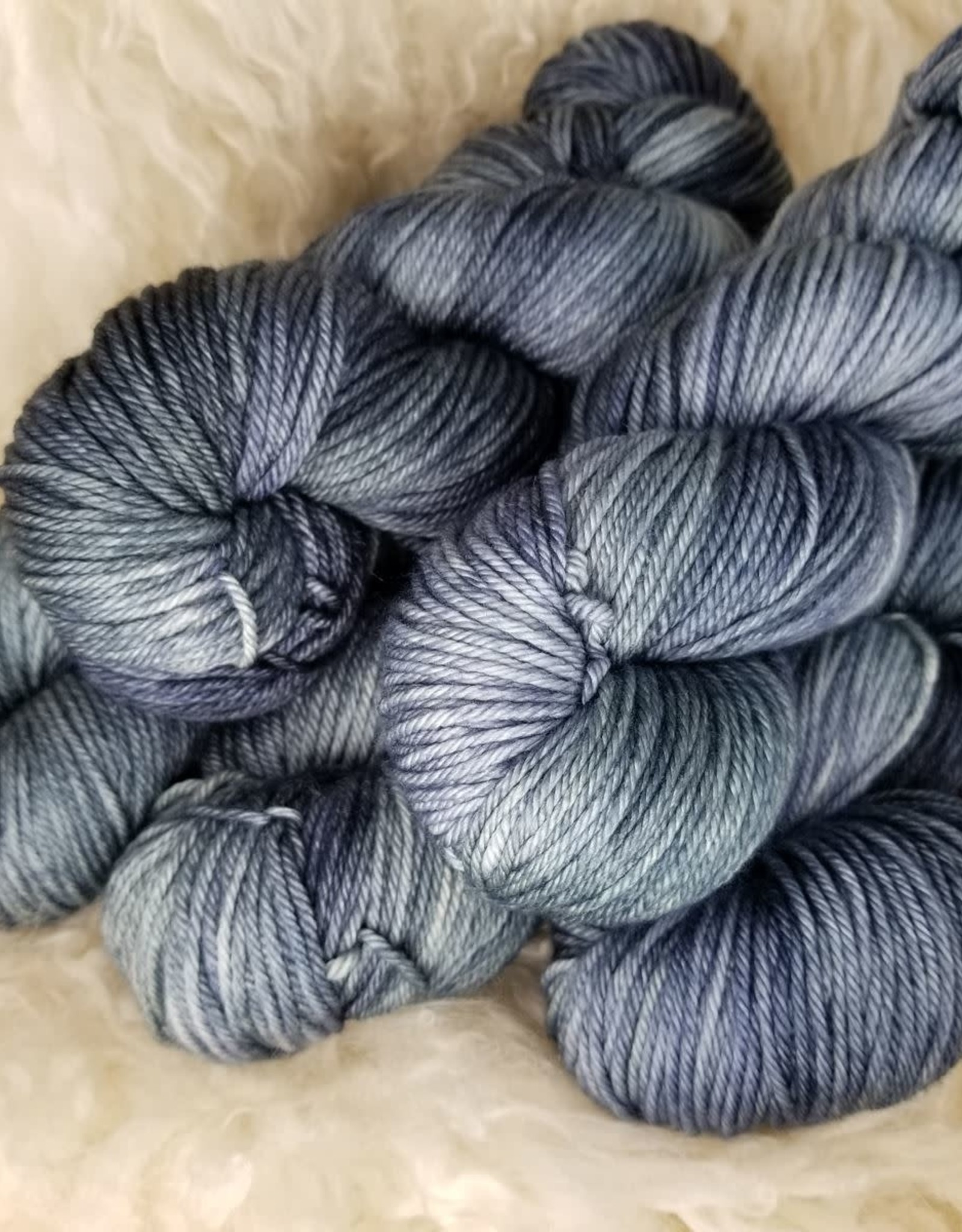 Palouse Yarn Co House EasyWash Worsted Tuesday Blue