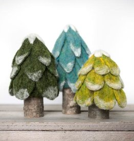 Evergreen Trees Felting Kit