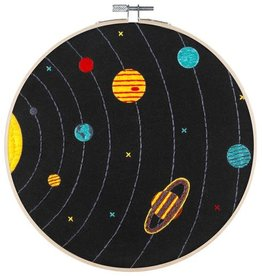 "PopLush Solar System 8"" Embroidery Kit"