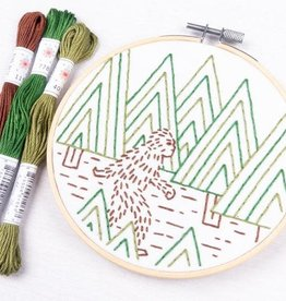 "PopLush Sasquatch 5"" Embroidery Kit"