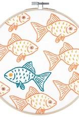 "PopLush Happy Misfit 8"" Embroidery Kit"