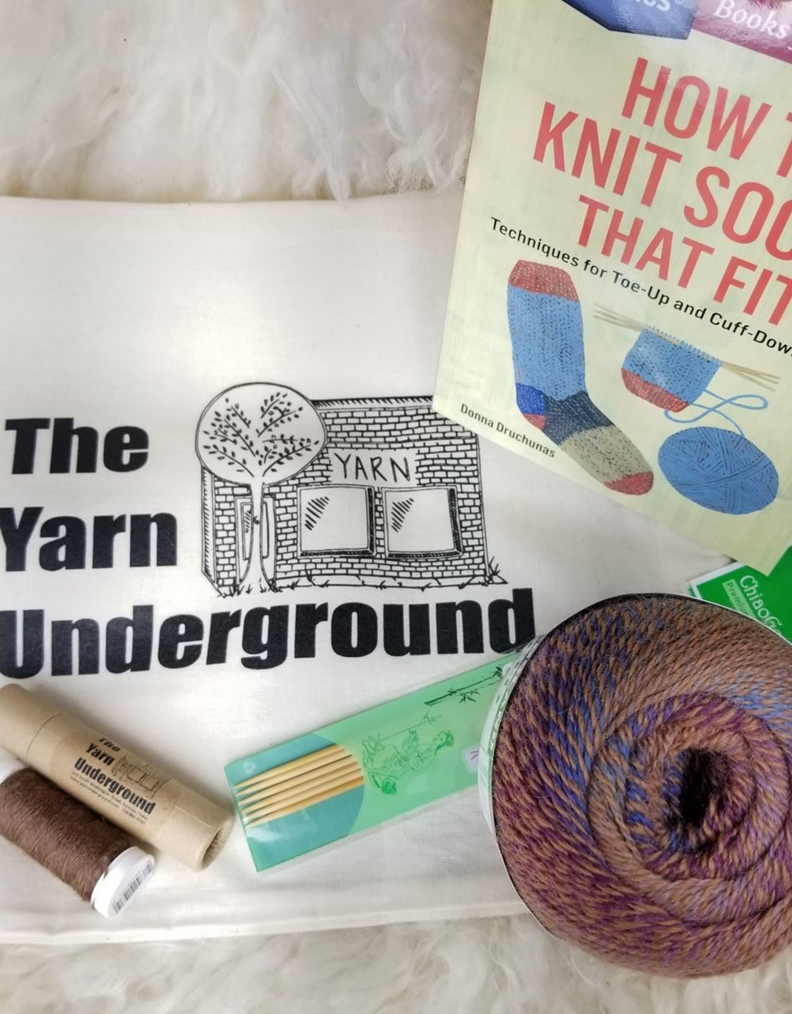 KIT Learn To Knit Socks That Fit