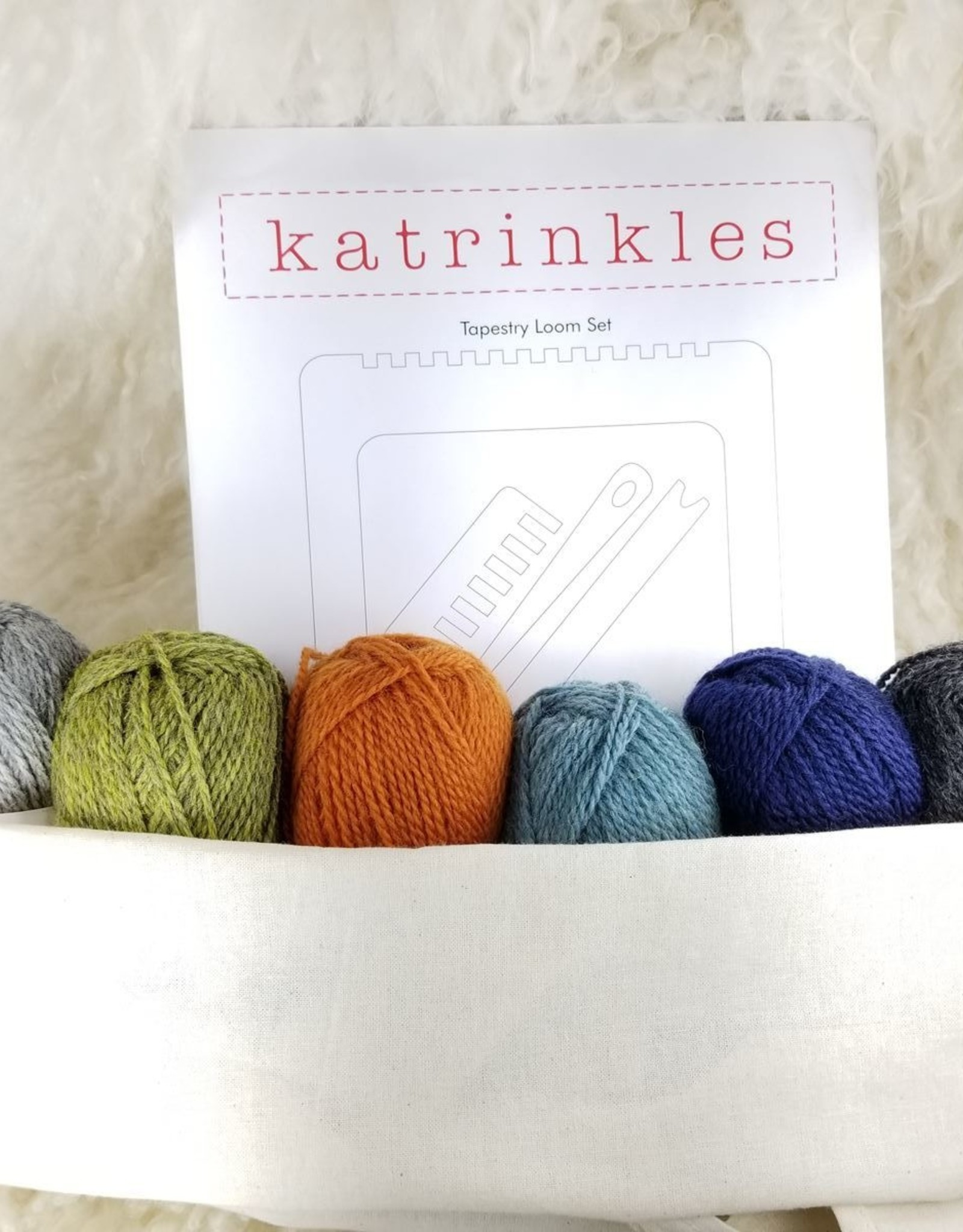 KIT Tapestry Weaving Set with yarn