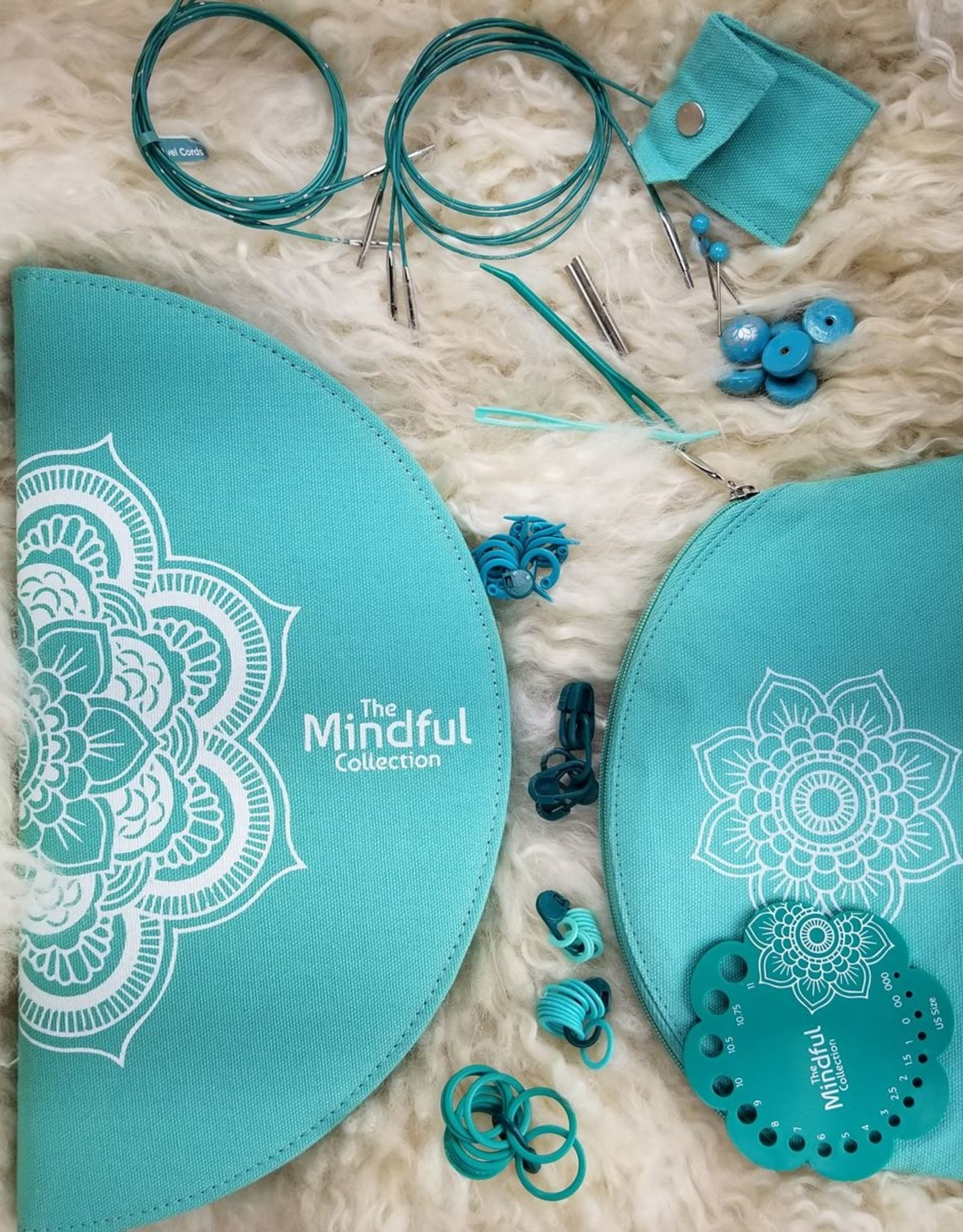 "Knitters Pride Mindful Gratitude 5"" IC Set sz 2.5-17"