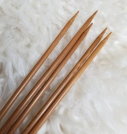 "Hiya Hiya 8"" Bamboo Double Pointed Needles"