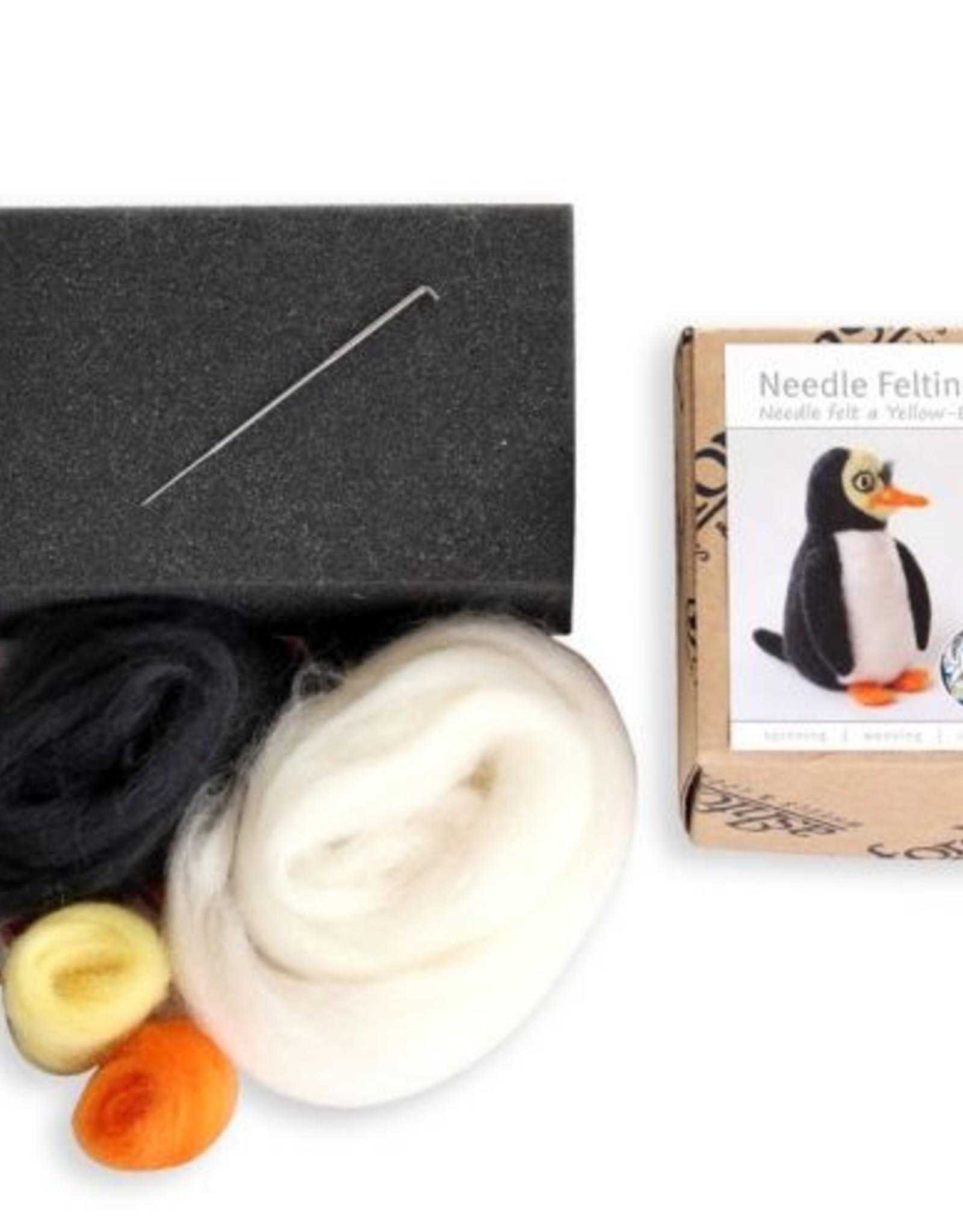 Ashford KIT Needle Felt Penguin
