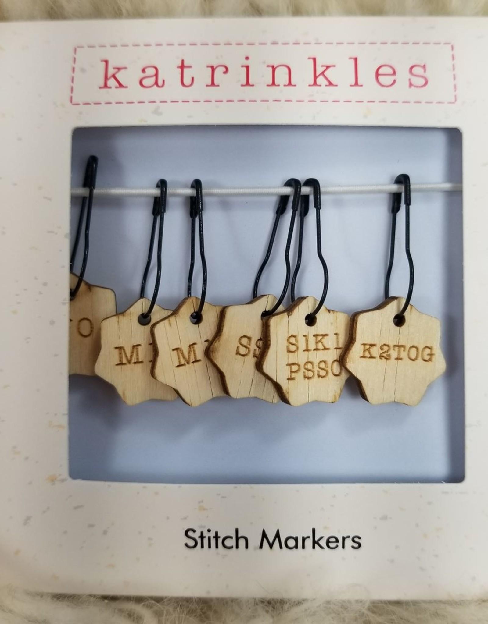 Palouse Yarn Co ssk-m1r Stitch Markers