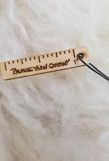 PYC 1 inch TINY rule stitch marker