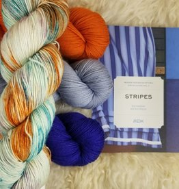 KIT Stripes book + HD Sock Yarn Set grand prismatic