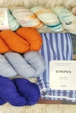 KIT Stripes book + HD Sock Yarn Set grand prismatic