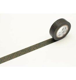 MT Washi Tape green wobble tile