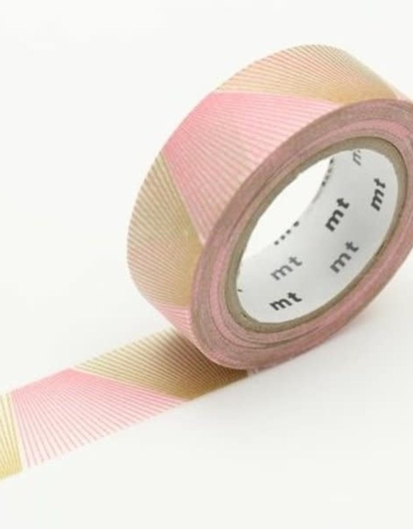 MT Washi Tape gradation gold line