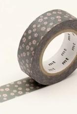 MT Washi Tape grey flower