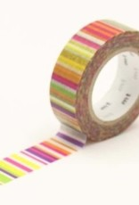 MT Washi Tape vivid multi-border