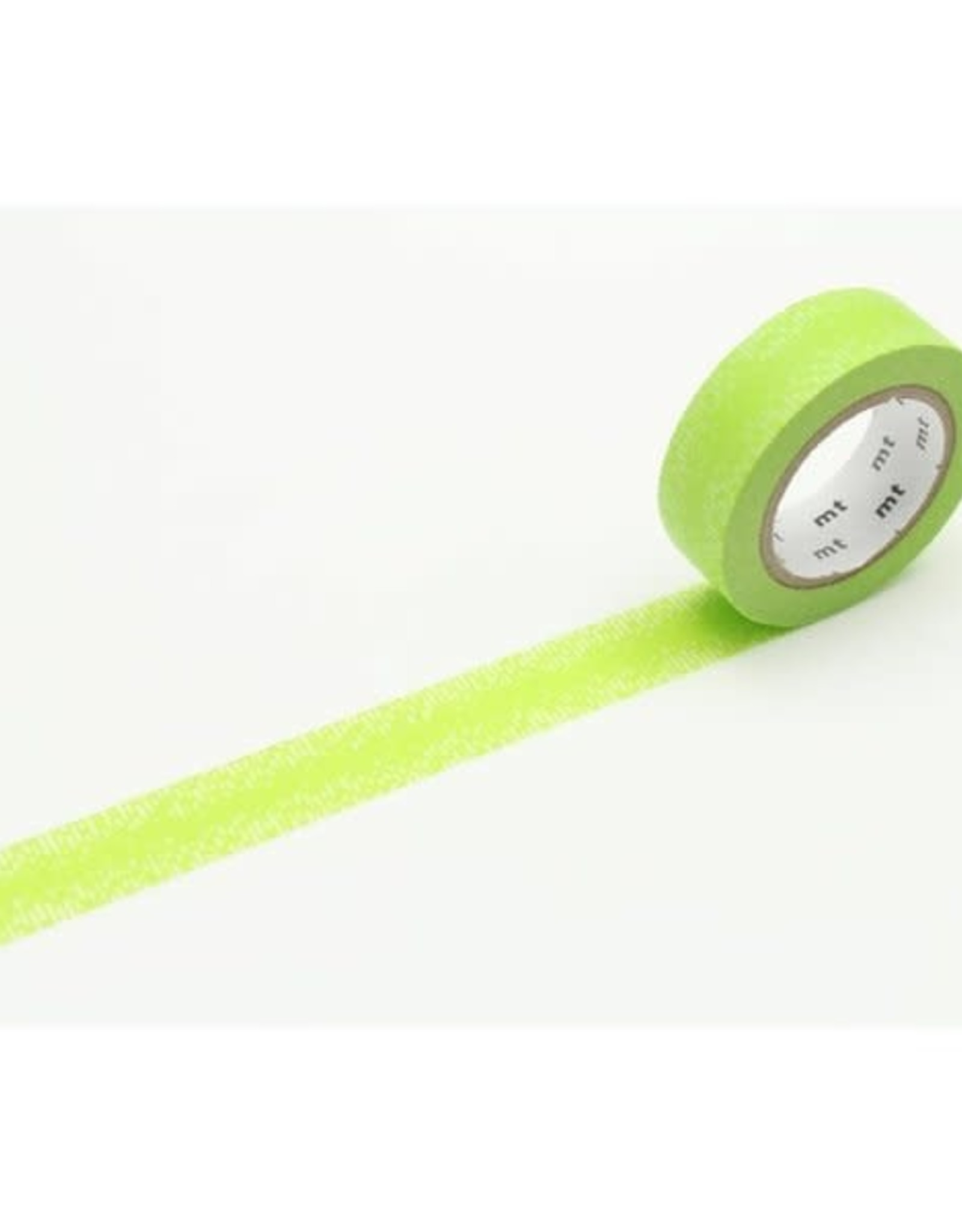 MT Washi Tape water drop grd green