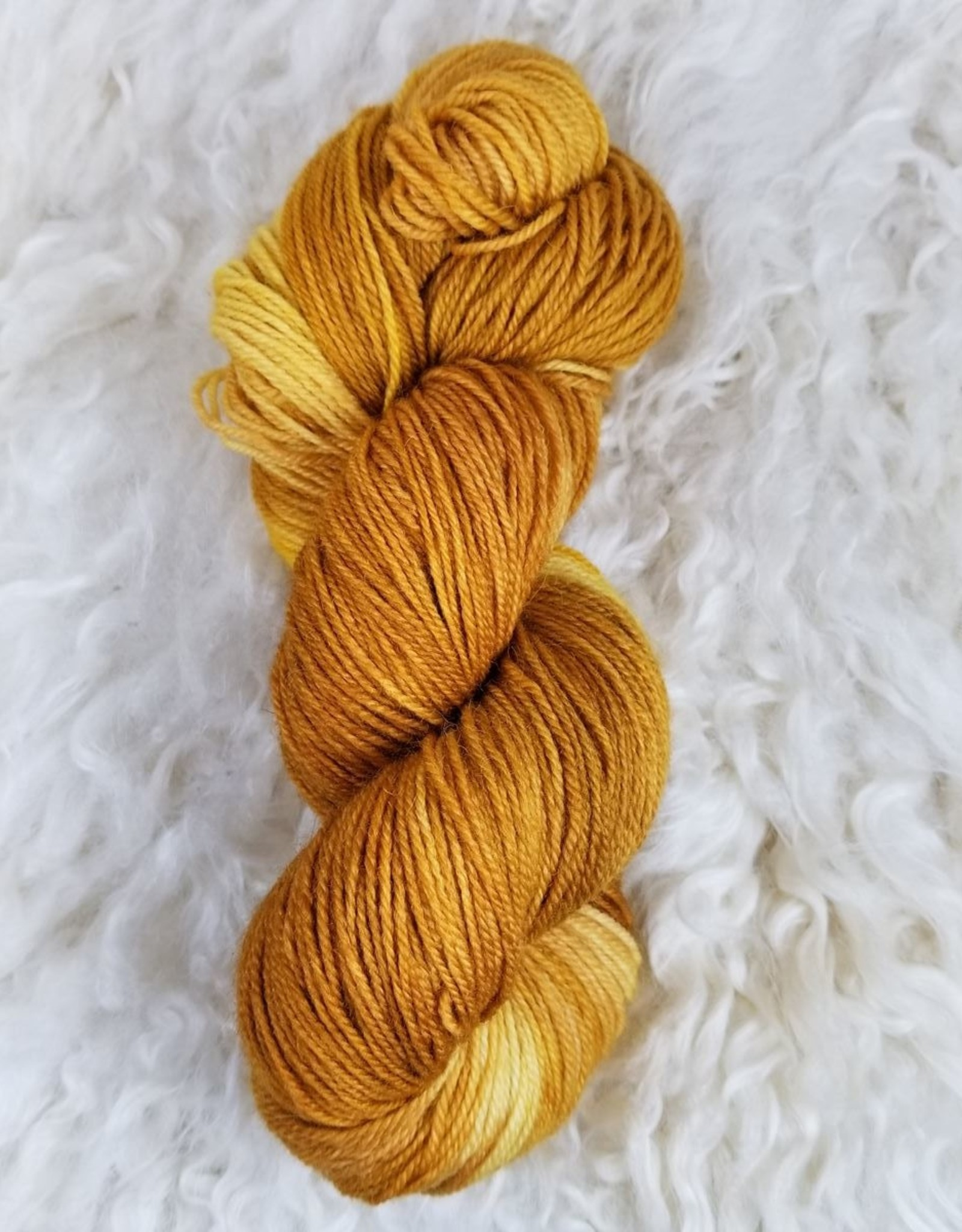 Palouse Yarn Co I Heart BFL Sock Juicy Fruit
