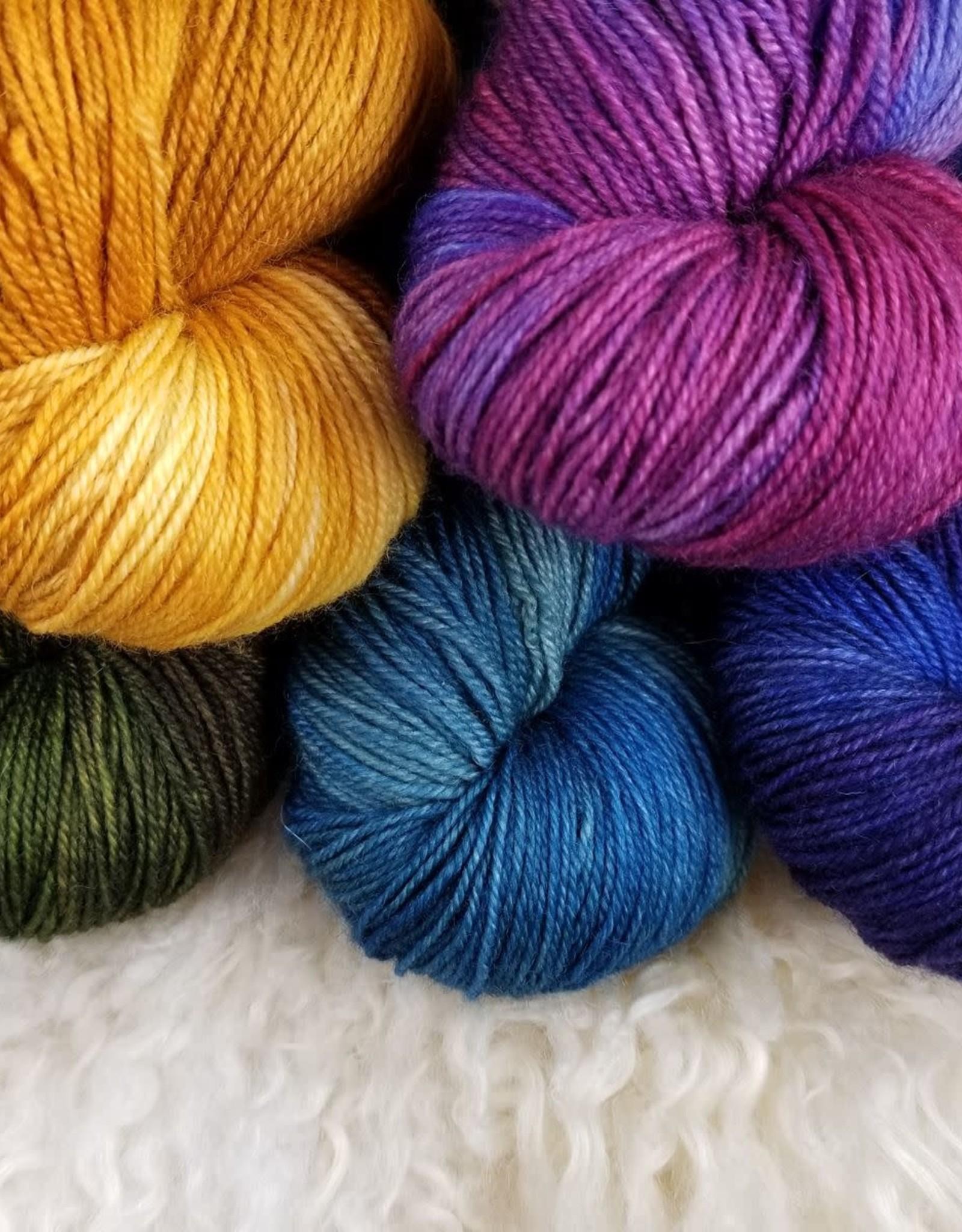 Palouse Yarn Co BFL Sock Juicy Fruit
