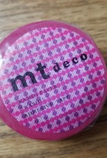 MT Washi Tape pink dot stripe