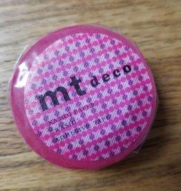 MT Washi Tape pink dot stripe