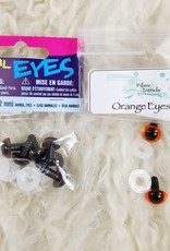 Animal Eyes Brown Animal 12mm
