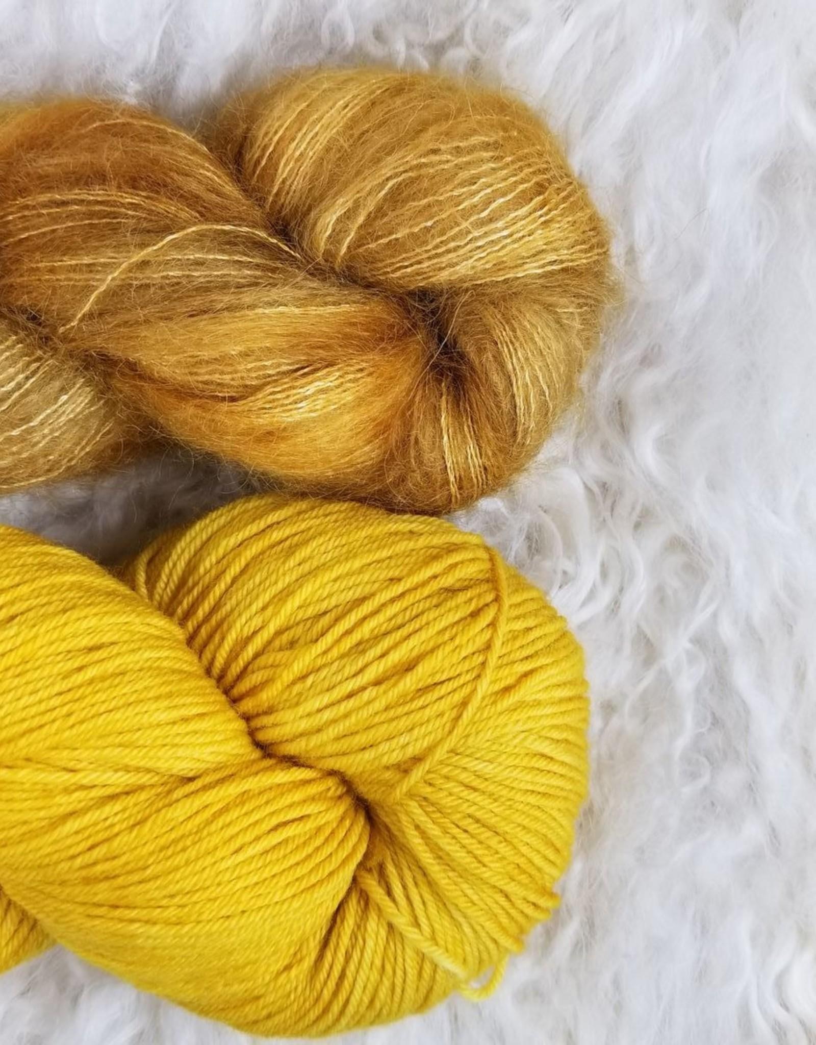 Palouse Yarn Co Mohair Pair Golden