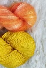 Palouse Yarn Co Mohair Pair Peachy Spring