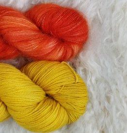 Palouse Yarn Co Mohair Pair Flames