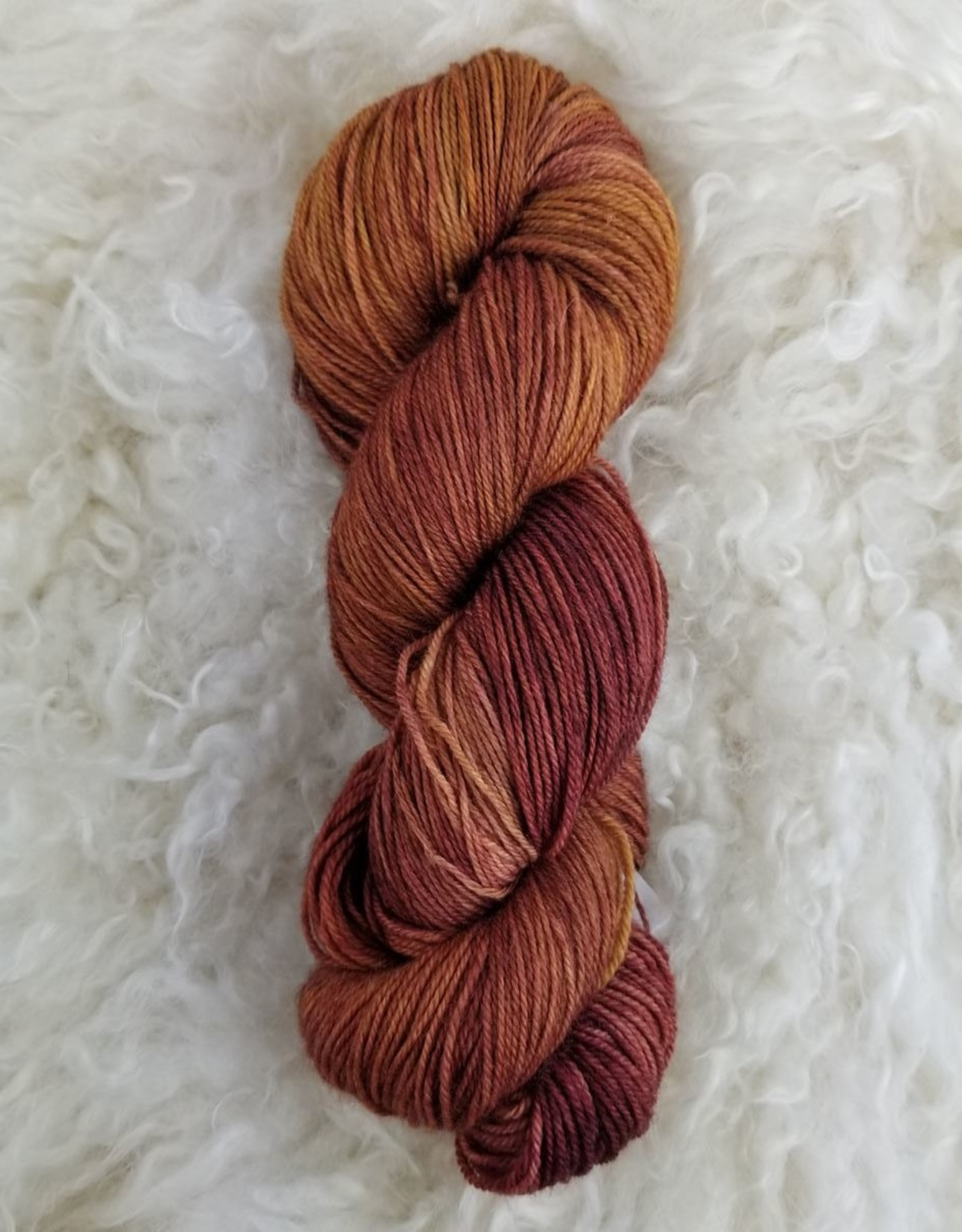 Palouse Yarn Co Organic Merino Sock Marsala