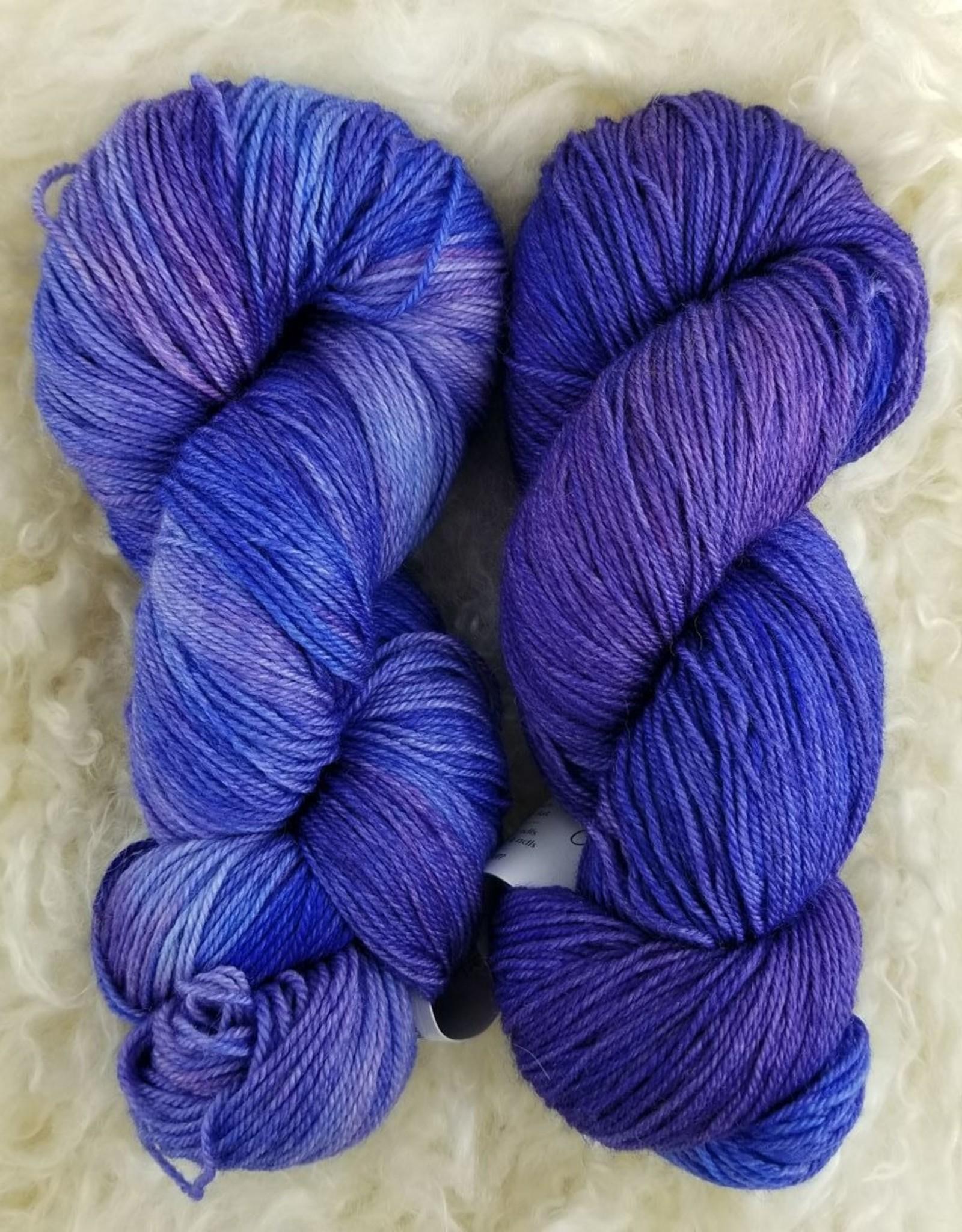 Palouse Yarn Co Organic Merino Sock Ultra Violet
