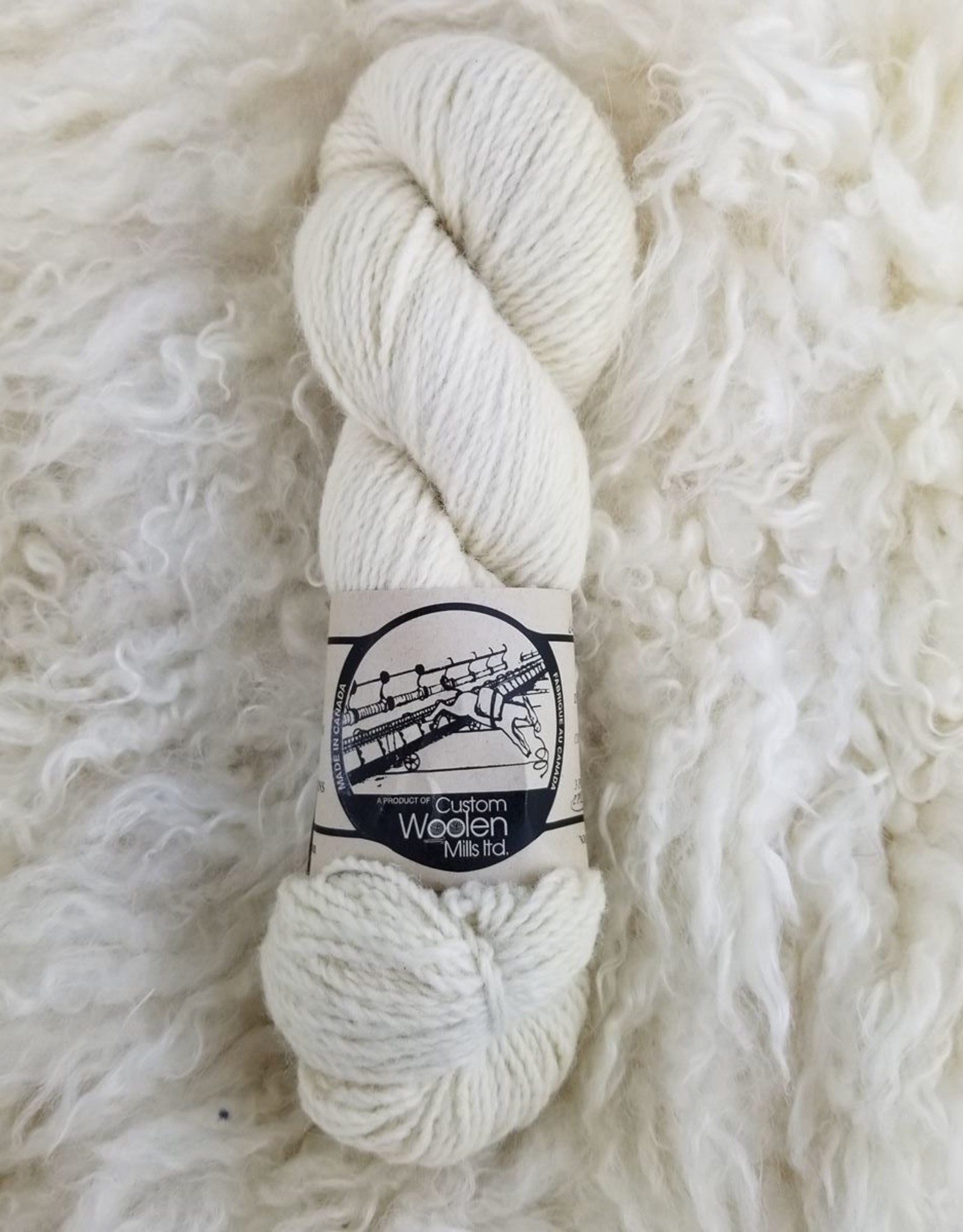 Mule Spinner 2ply  4oz Cotswold natural
