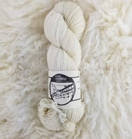 Mule Spinner 2ply  4oz East Friesian natural