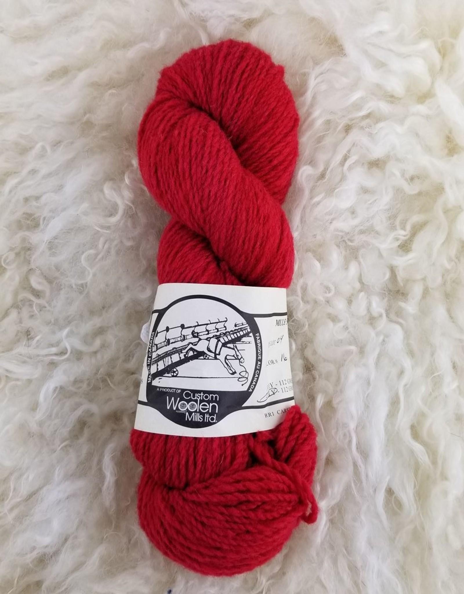 Mule Spinner 2ply  red