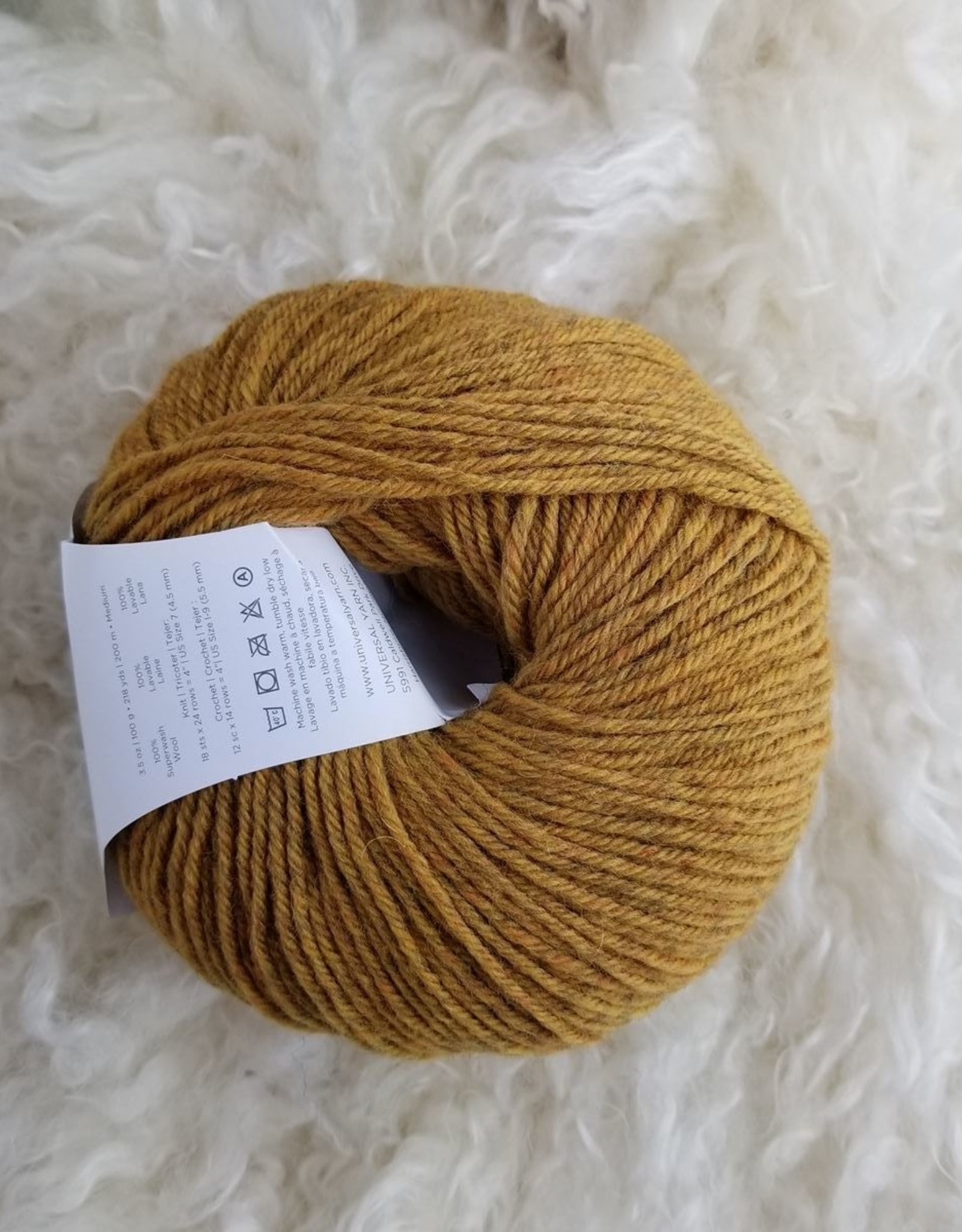 Universal Yarns UY Deluxe Worsted SW 100g 768 Spice Rustic