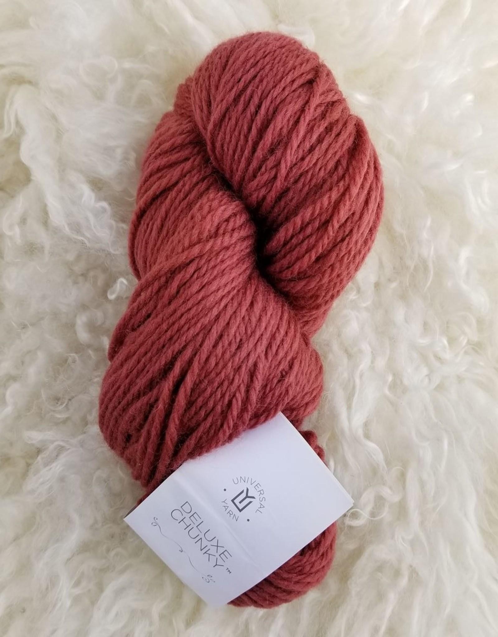 Universal Yarns Deluxe Chunky Wool 100g clay