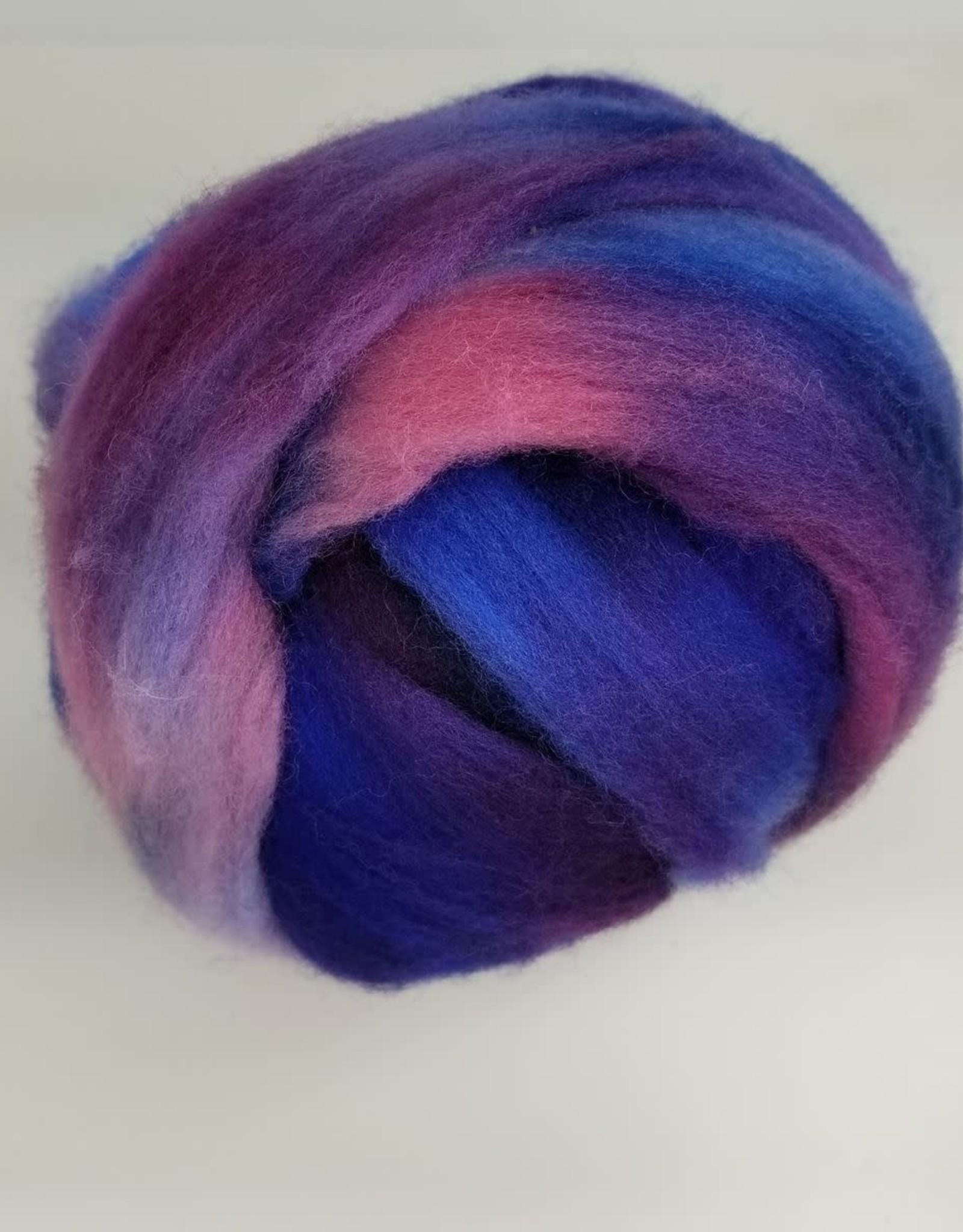 Palouse Yarn Co Hand Dyed Fiber 4 oz BFL & Silk, Polwarth, or Corriedale