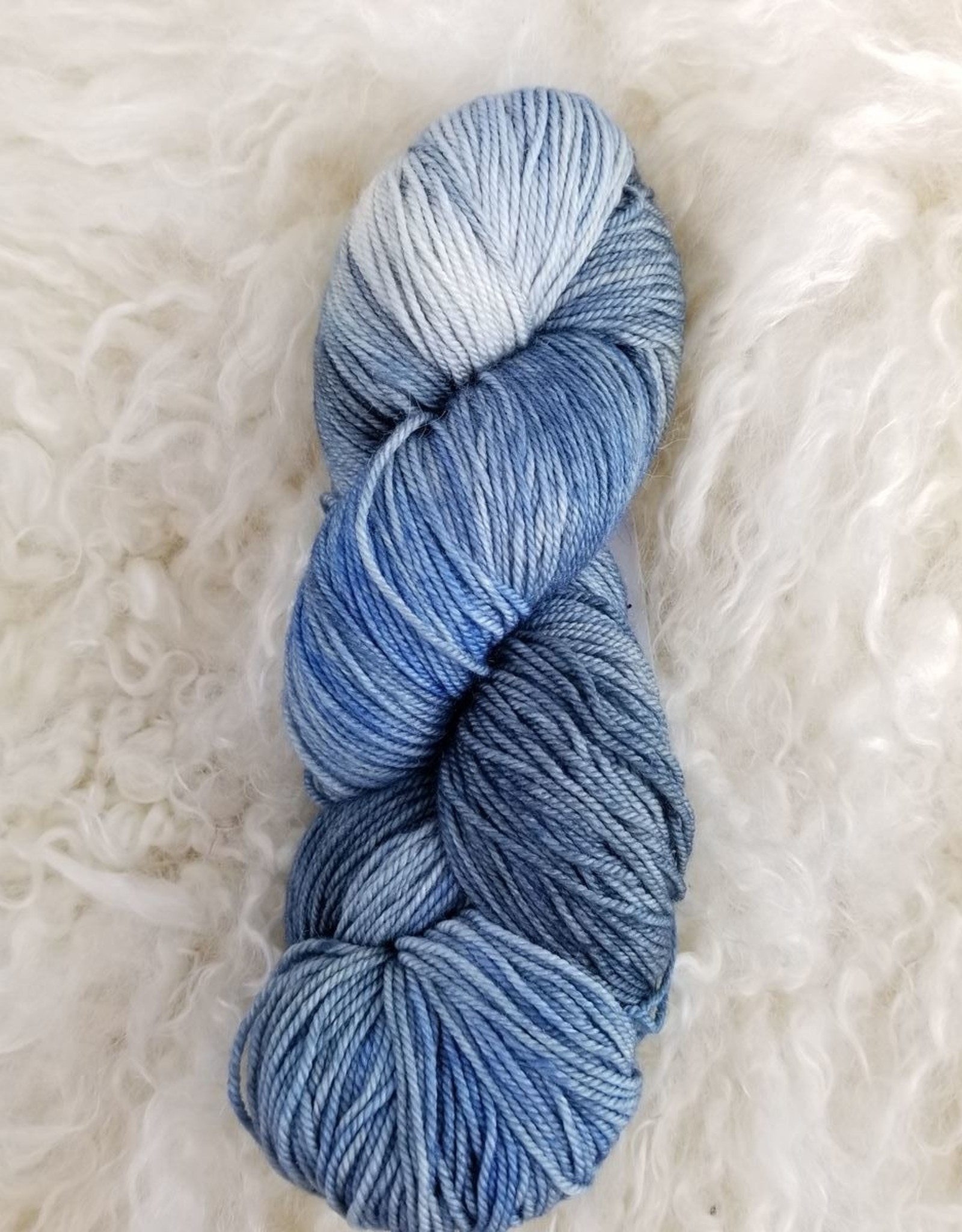 Palouse Yarn Co Cashmere Squeeze Tuesday Blue